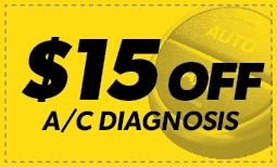 $15 Off A/C Diagnosis