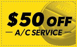 $50 Off A/C Service