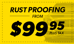 Rust Proofing from $99.95