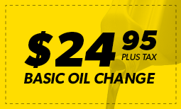 February Flash Sale: $24.95 Oil Change