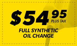February Flash Sale: $54.95 Oil Change