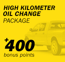 High Kilometer Oil Change Package