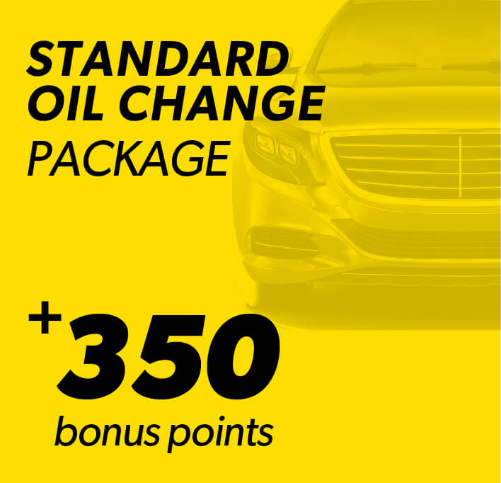 Standard Oil Change Package