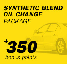 Synthetic Blend Oil Change Package