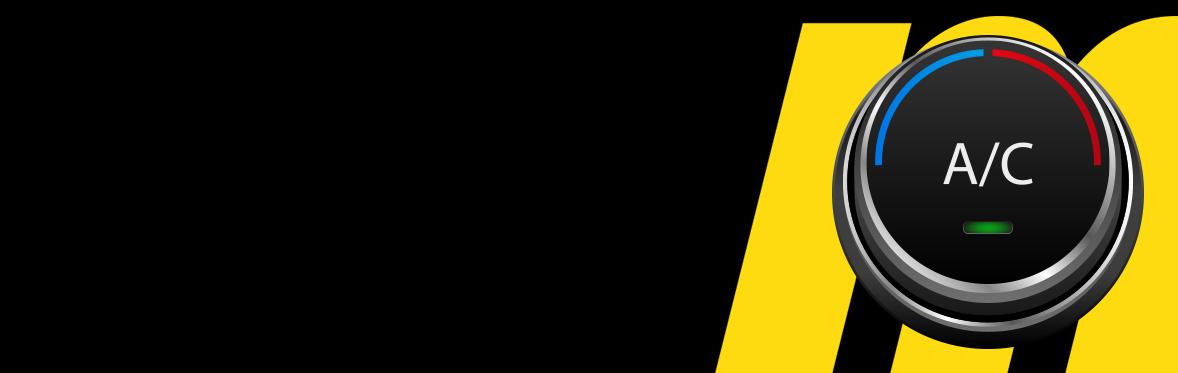 Meineke A/C Inspection Banner