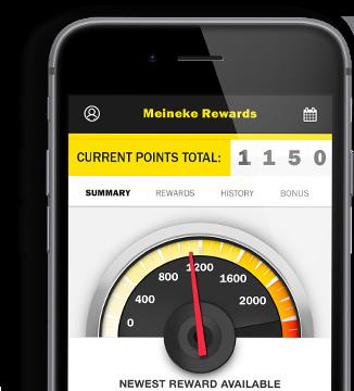 Meineke Rewards Phone