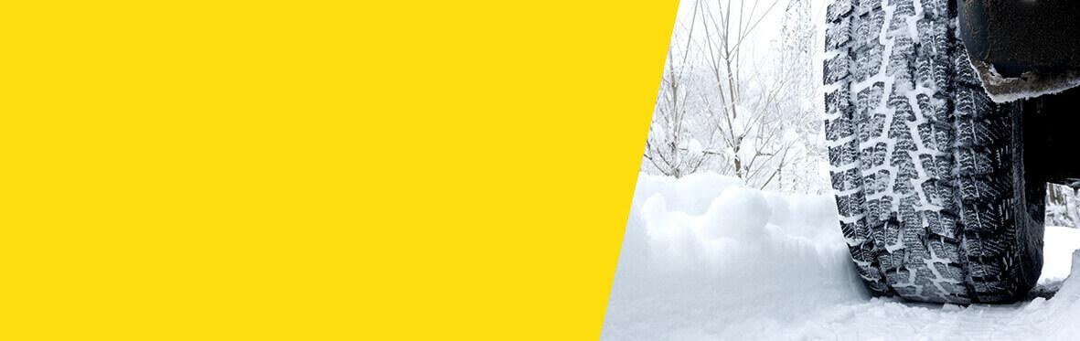 Meineke Winter tires changeover Banner