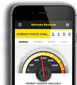 Meineke Rewards Phone