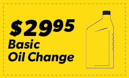 $29.95 Basic oil Change Coupon
