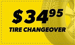 $34.95 Tire Changeover