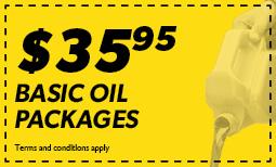 $35.95 Basic Oil Change Coupon