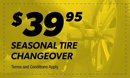 $39.95 Seasonal Tire Changeover