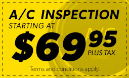 $69.95 A/C Inspection