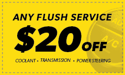 $20 Off Any Flush Service