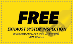 Free Exhaust System Inspection