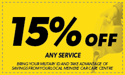 Military Personnel: 15% off Any Service