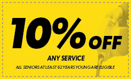 Senior Citizen: 10% off Any Service