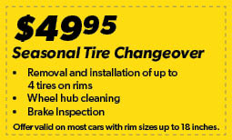 Tire Changeover Coupon