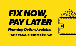 Fix Now, Pay Later Coupon